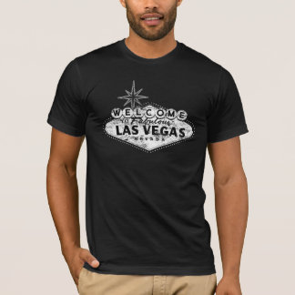 Distressed Welcome To Las Vegas Sign T-shirt