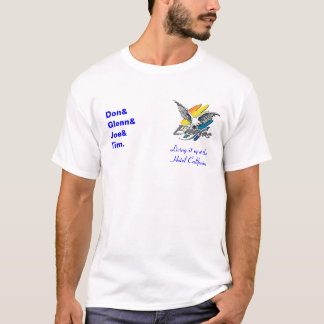 Eagles-logo, Living it up at the Hotel Californ... T-Shirt