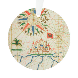 Egypt, the River Nile and Cairo Ornament