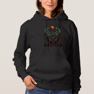 Egyptian Cat Design Ancient History Hoodie