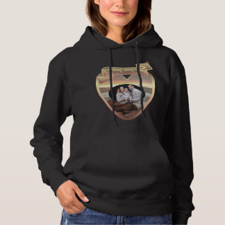 Family Photo Waves and Boulders 0893 Hoodie