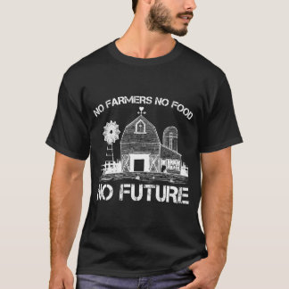 Farmer Support Proud Agriculture Food Farming T-Shirt