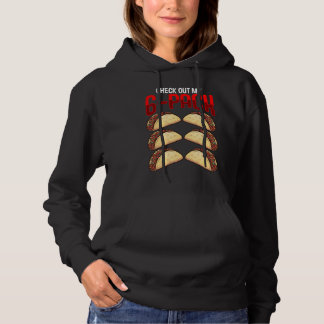 Funny Mexican Gym Fitness Taco Lover Mexico Food Hoodie