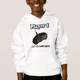 Gamer   Player 1   Personalize Hoodie