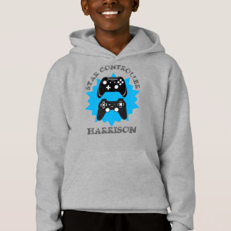 Gamers Funny Star Controller Personalized Hoodie