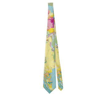 Geologic Map of South America Neck Tie