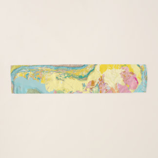 Geologic Map of South America Scarf