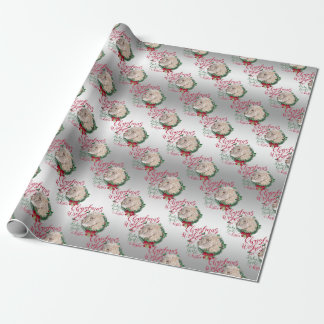 GOAT | Christmas Wishes Baby Goat Kisses Angora Wrapping Paper