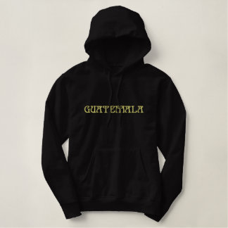 GUATEMALA Latin America Country Patriotic Embroidered Hoodie
