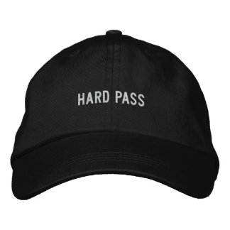 Hard Pass Embroidered Hat