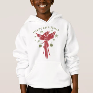 HARRY POTTER™ Fawkes & Cauldrons Holiday Graphic Hoodie