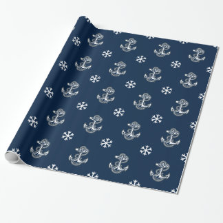Holiday | Naval Academy Anchor Wrapping Paper