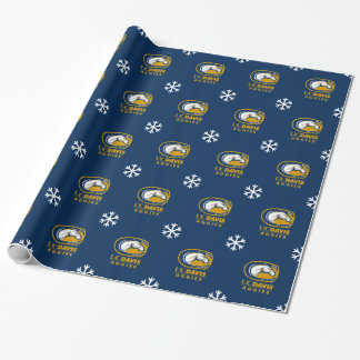 Holiday | UC Davis Horse Head Logo Wrapping Paper