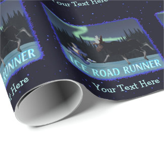Ice Road Runner Wrapping Paper