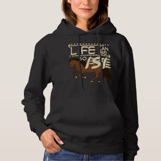 Icelandic Horse Life Can By So Isi Hoodie