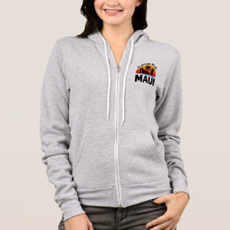 I'd Rather Be In Maui Hawaii Hoodie