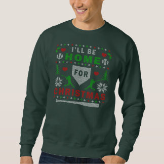 I'll be Home Ugly Christmas Sweater