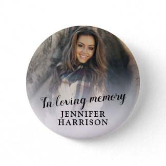 In loving memory photo button