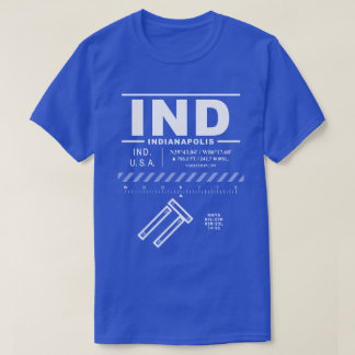 Indianapolis International Airport IND T-Shirt