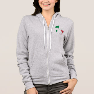 ITALY - FLAG MAP/ROME/CREST/COLORS HOODIE