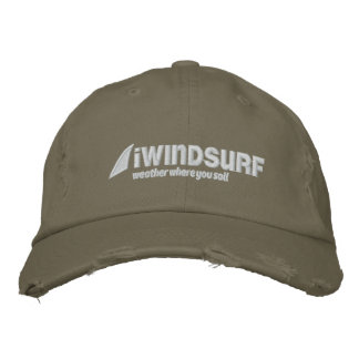 iW Olive Distressed Hat