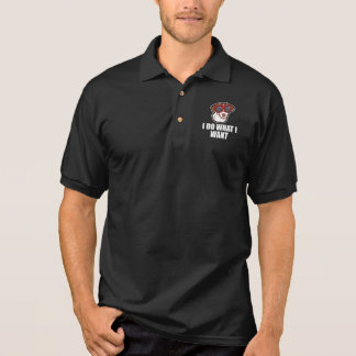 Jack Russell Terrier Funny Dog Gift Polo Shirt