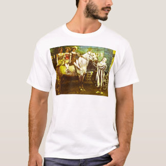 Jack the Clown and the Three Queens Vintage Circus T-Shirt