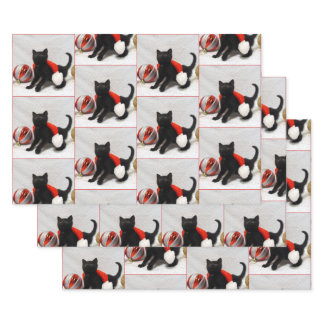 Joon The Rescue Kitten -  Christmas Wrapping Paper