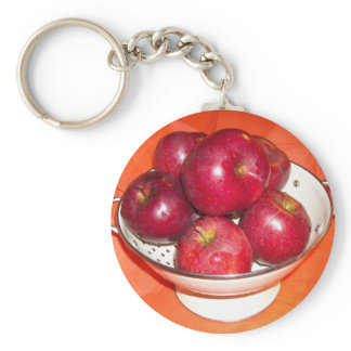 Just Picked Apples Keychain