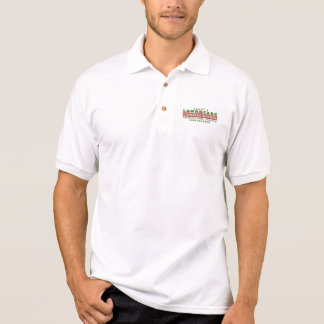 Lawn Care & Landscaping Business White Polo Shirt