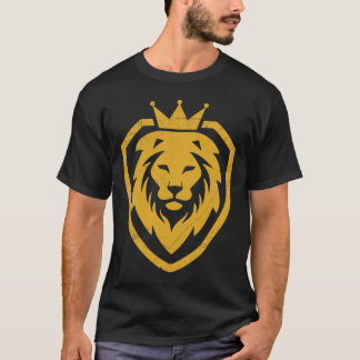 Lion With Crown T-shirt Logo