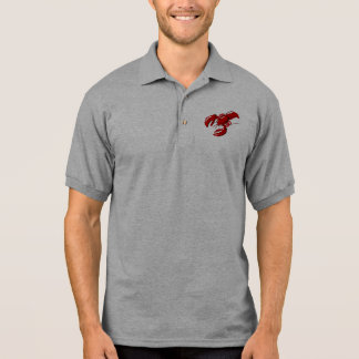 Lobster Mens Polo T-shirt Template
