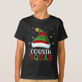 Matching Cousin Squad Funny Xmas Gift T-Shirt