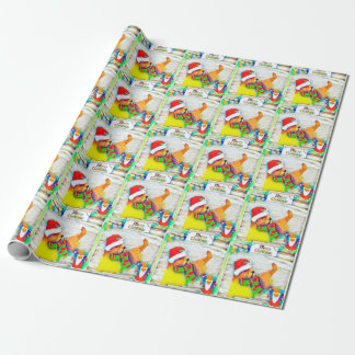 Merry Otterly Christmas gift wrap