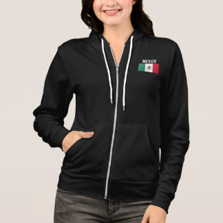 Mexico Mexican Flag Hoodie
