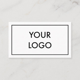 Minimalist Professional Corporate Black And White Business Card