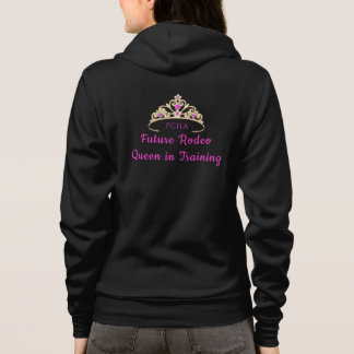 Miss Rodeo Crown Hoodie Future Rodeo Queen in Trai