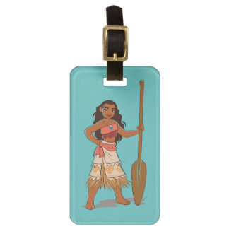 Moana   Daughter Of The Sea Luggage Tag