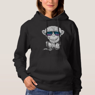 Monkey With The Glasses Equalizer Dipper Hoodie
