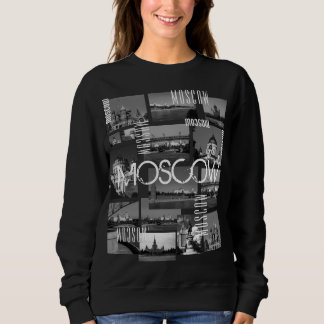 Moscow City St Basil's Cathedral Architecture City Sweatshirt