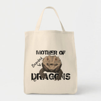 """""""Mother of Bearded Dragons"""" Tote"""
