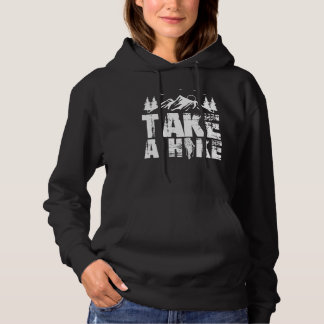 Mountain Hiking Enthusiast Outdoor Nature Lover Hoodie