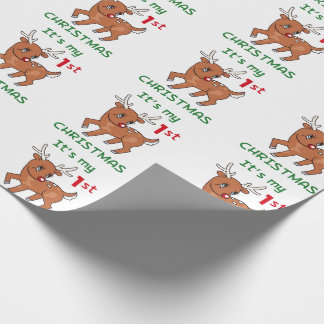 My First Christmas Wrapping Paper