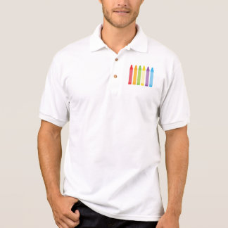 Never Too Old For Crayons Polo Shirt