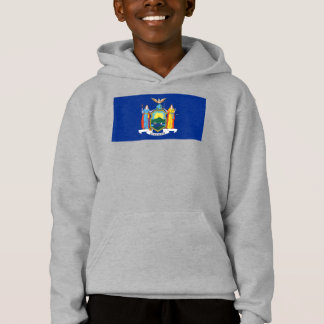 New York The Empire State Flag Coat of Arms T-Shir Hoodie