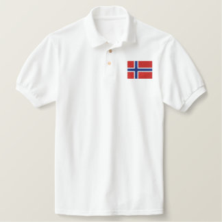 NORWAY EMBROIDERED POLO SHIRT