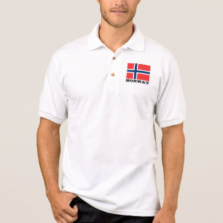 Norway flag custom polo shirts for men and women