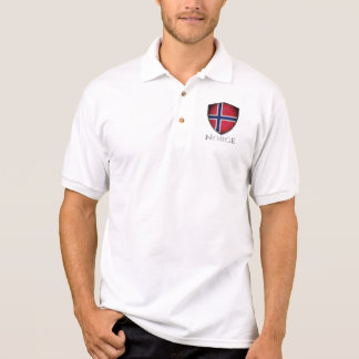 Norway Norge Shield Polo Shirt