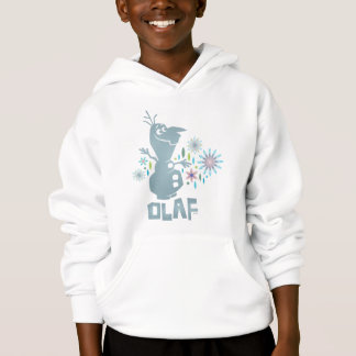 Olaf | Today Will be Perfect - Flowers Hoodie