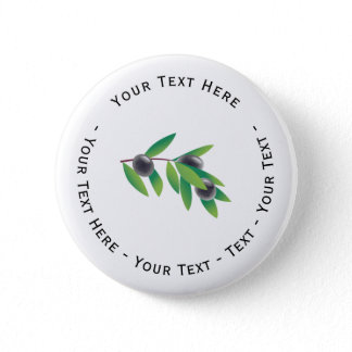 Olive Branch Button
